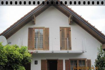 fotomontage balkon zaun bausysteme allg u ug. Black Bedroom Furniture Sets. Home Design Ideas
