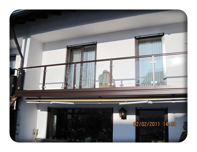 alu glas balkon zaun bausysteme allg u ug. Black Bedroom Furniture Sets. Home Design Ideas