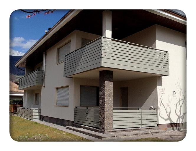 ha 581 und ha 582 balkon zaun bausysteme allg u ug. Black Bedroom Furniture Sets. Home Design Ideas
