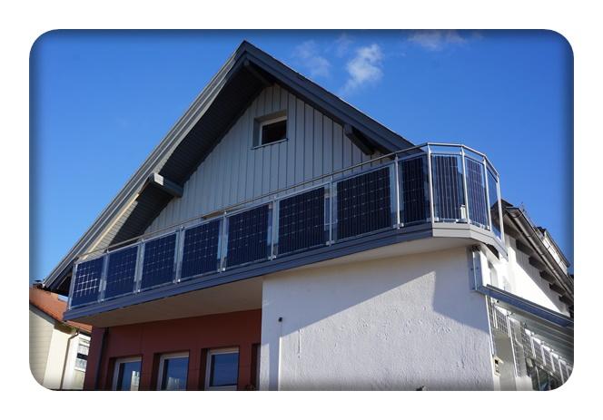 pv balkone solarbalkone balkon zaun bausysteme. Black Bedroom Furniture Sets. Home Design Ideas