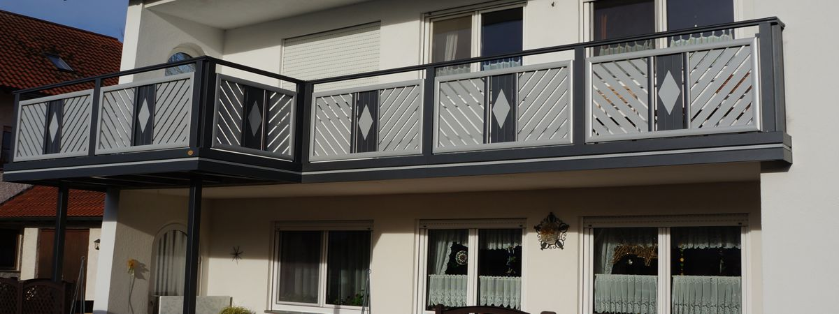 produkte balkon zaun bausysteme allg u ug. Black Bedroom Furniture Sets. Home Design Ideas