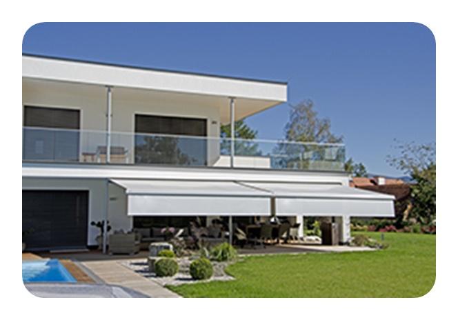 balkon markise gnstig cool sichtschutz fr terrasse und. Black Bedroom Furniture Sets. Home Design Ideas
